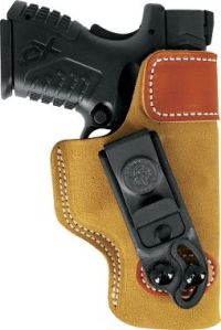 IWB metal clip adjustable